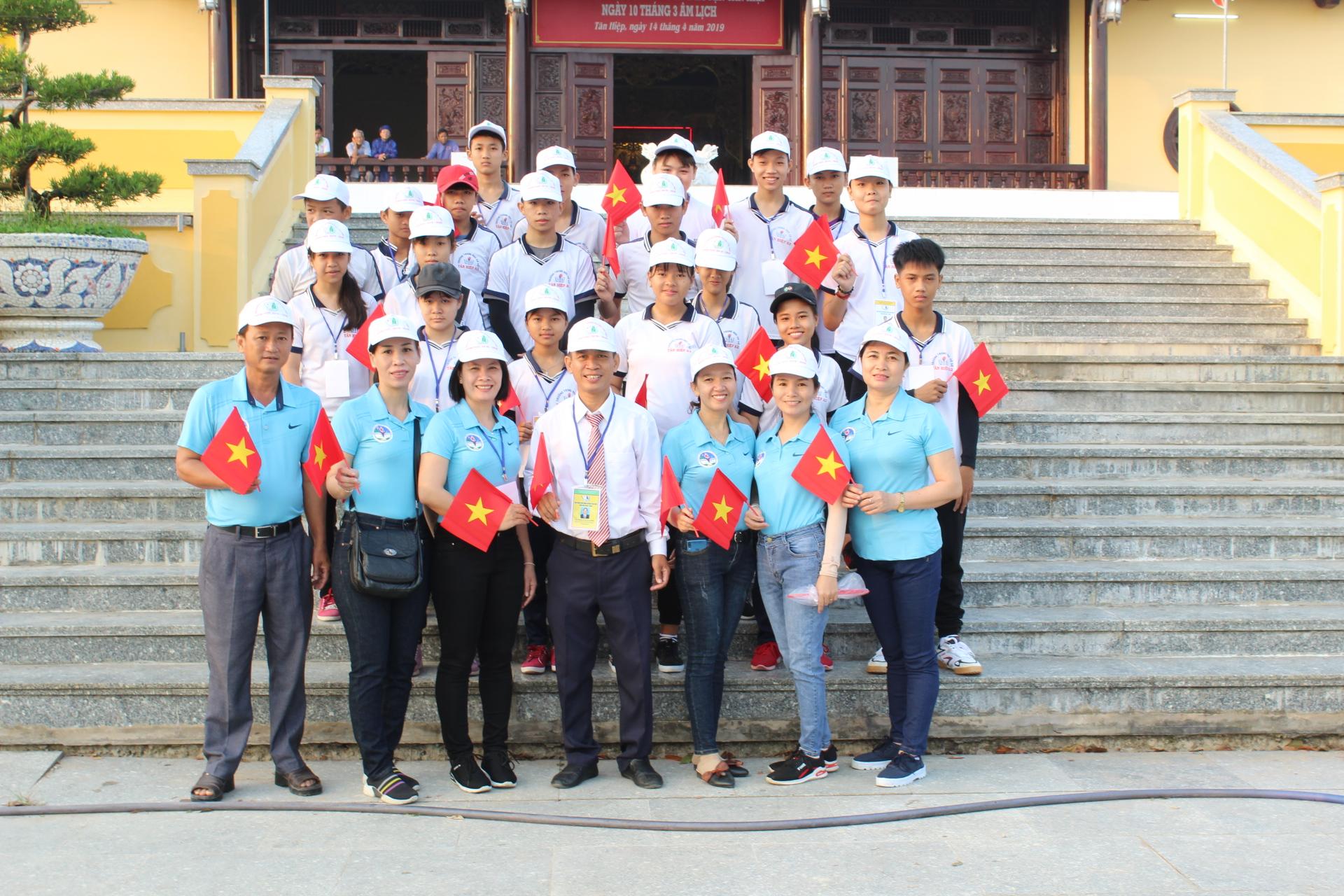 Tham gia Hội khỏe Phù Đổng vòng huyện năm học 2019-2020