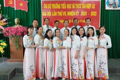 ĐẠI HỘI CHI BỘ LẦN THỨ VII, NHIỆM KỲ 2020-2022